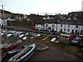 SH7877 : Boats and cottages, Lower Gate Street, Conwy by Phil Champion
