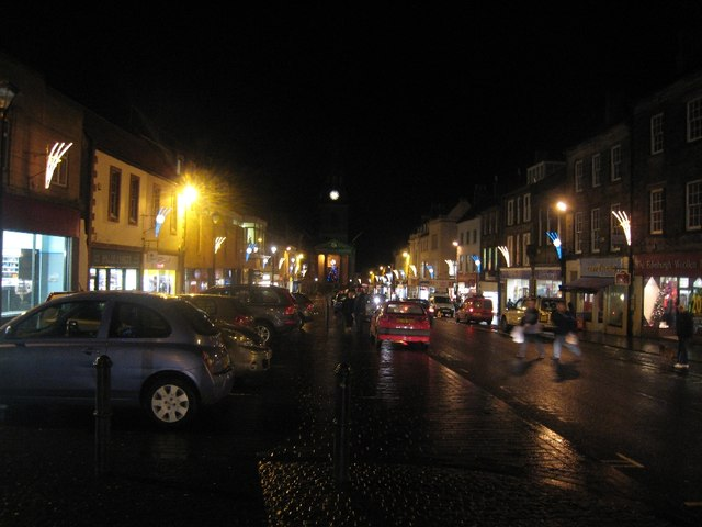 Berwick upon Tweed Christmas Lights