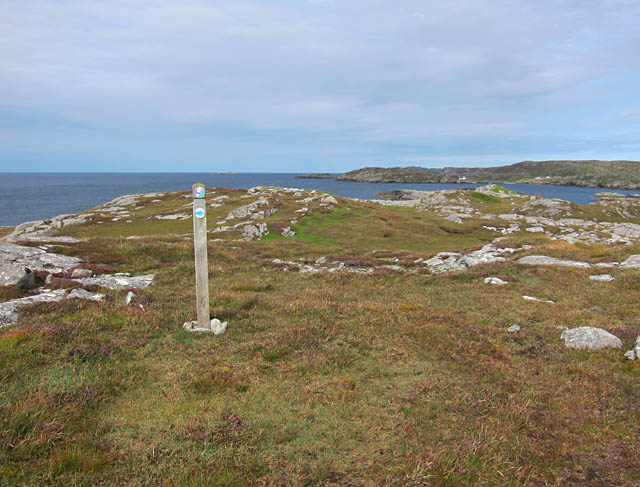 Waymarked coastal walk