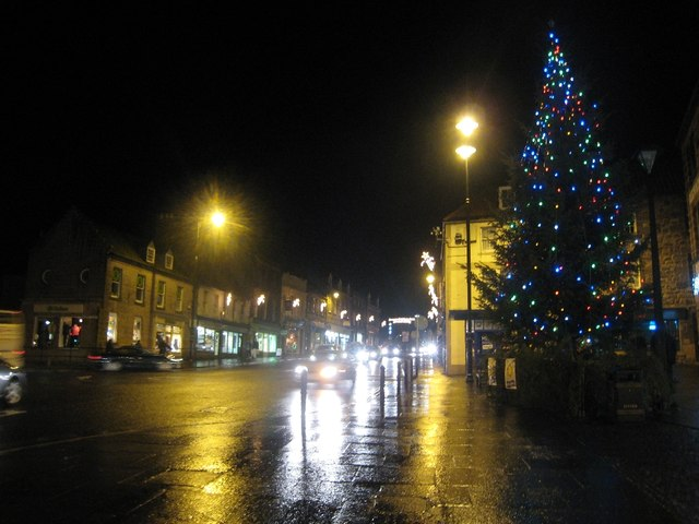 Christmas Tree in Berwick upon Tweed