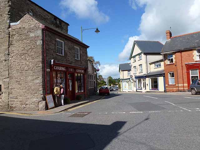 Town Square, Talgarth