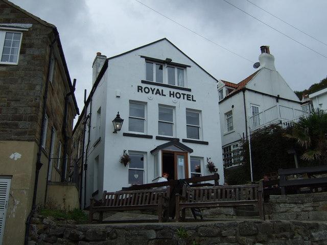 Royal Hotel Runswick Bay Menu