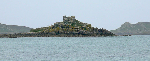 Great Cheese Rock, from the South, Tresco, Scilly