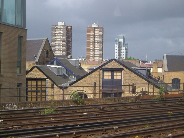 Buildings near London Bridge