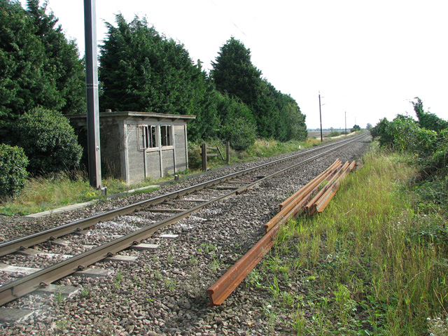 Plate layer's hut by St German's level crossing