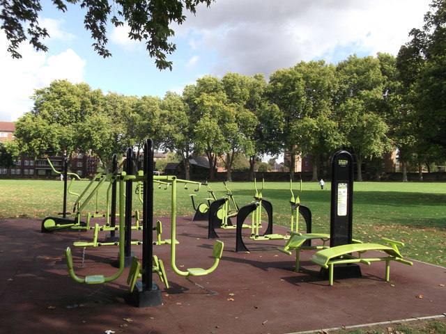 Outdoor Gymnasium Centre In Home Park