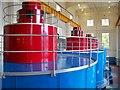 NN3209 : Sloy Hydro Electric Power Station Turbine Hall : Week 38