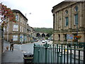 SD9324 : Looking down the A646, Todmorden by Ian S
