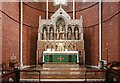 TQ3383 : St Chad, Dunloe Street, E2 - Sanctuary by John Salmon