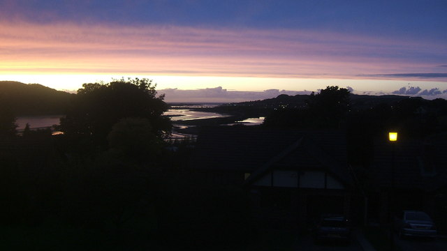 Twilight over River Conwy 20.9.11 (2)