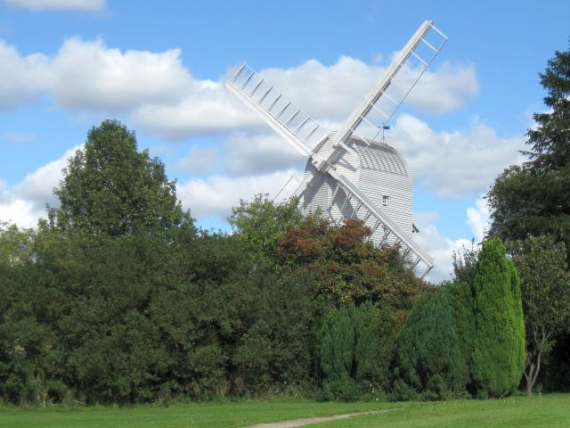 Finchingfield post mill
