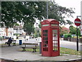 TQ3773 : K2 Telephone Box on Canadian Avenue by David Anstiss