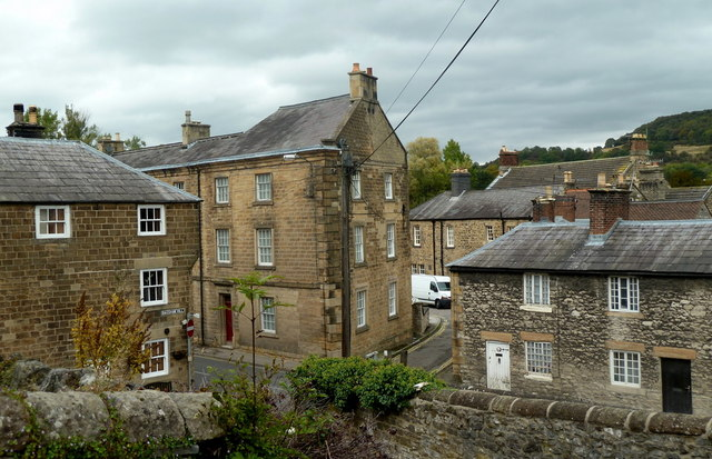 Buildings by Buxton Road, Bakewell