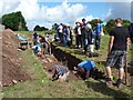 ST3390 : Archaeological excavations, Caerleon [4] by Robin Drayton