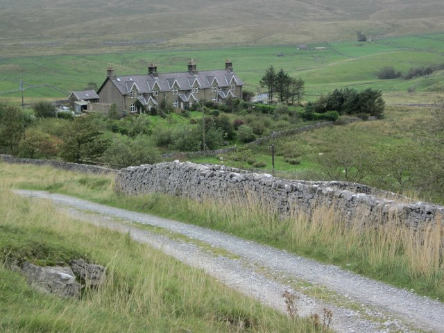 Railway Cottages in Ribblesdale