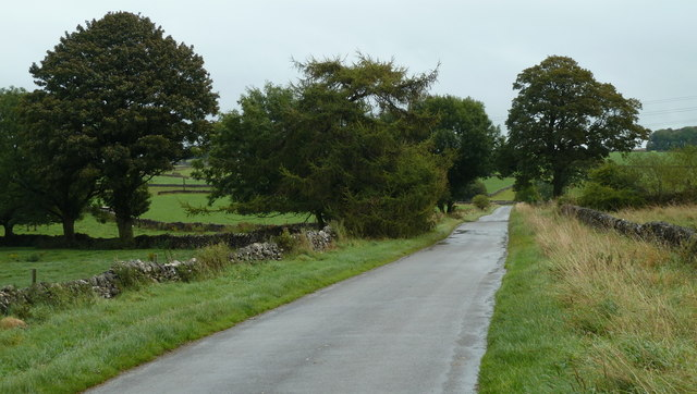 Lane east of Flagg