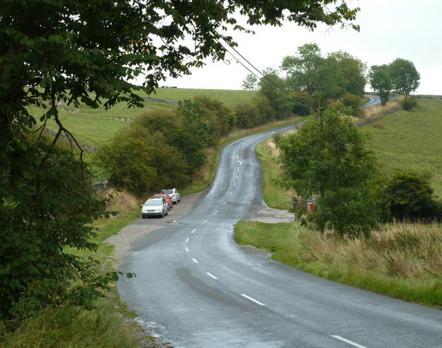 Road east of Monyash