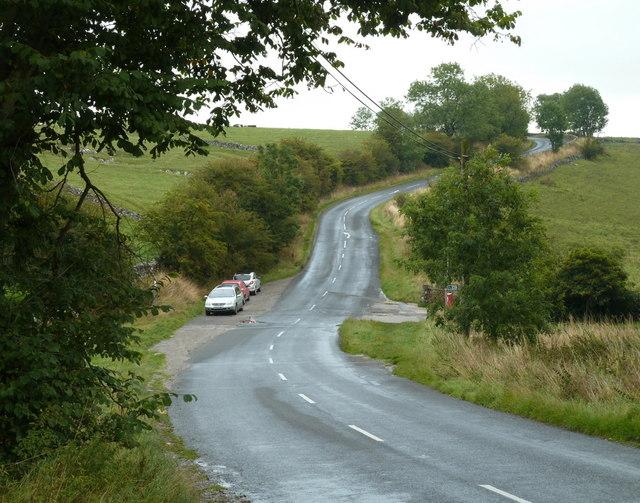 Road east of Monyash