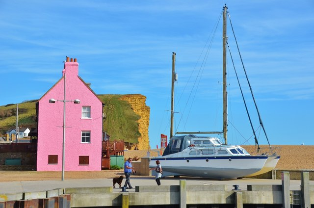 West Bay: Colourful Views