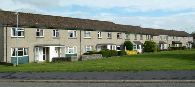 Row of houses, Upper Yeld Road