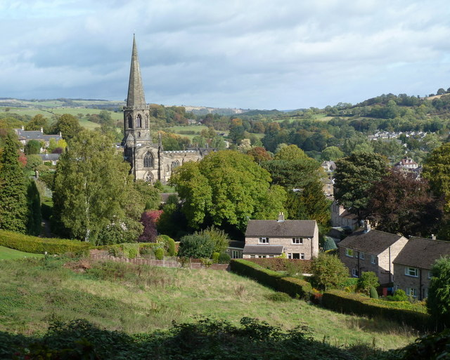Bakewell view from Yeld Road