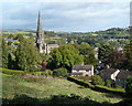 SK2168 : Bakewell view from Yeld Road by Andrew Hill