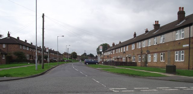 Council housing in Breightmet, Bolton
