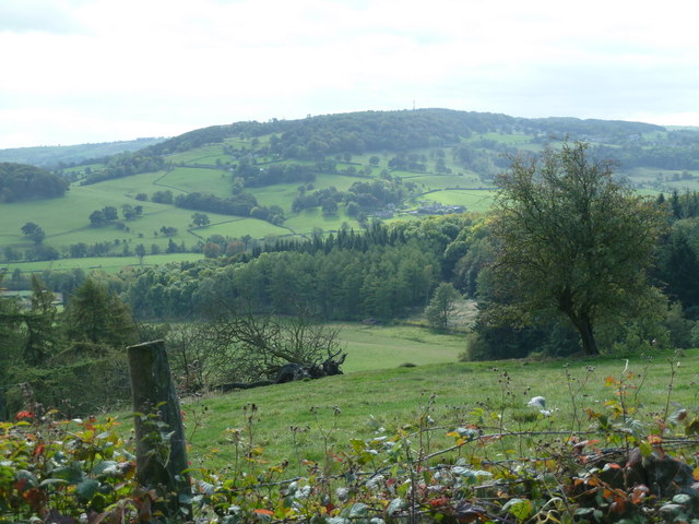 Overlooking the Wye valley