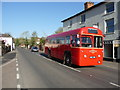 SU3535 : Stockbridge - London Bus by Chris Talbot