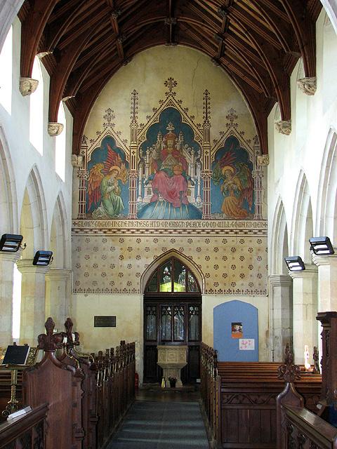 St Andrew's church in Weybread
