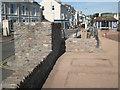 SX9372 : Wall, steps and promenade by Marine Parade  by Robin Stott