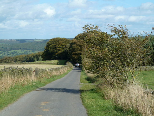 Handley Lane towards Pilsley