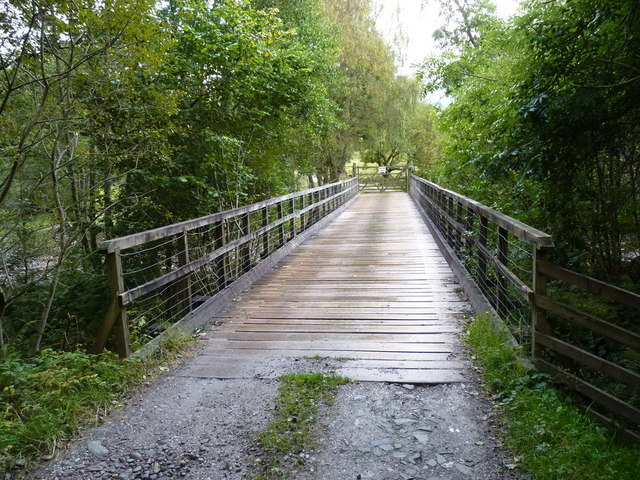 Bridge over the Allt Leachdach