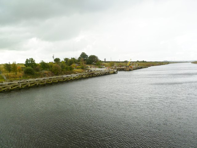 Frodsham Marsh, jetty