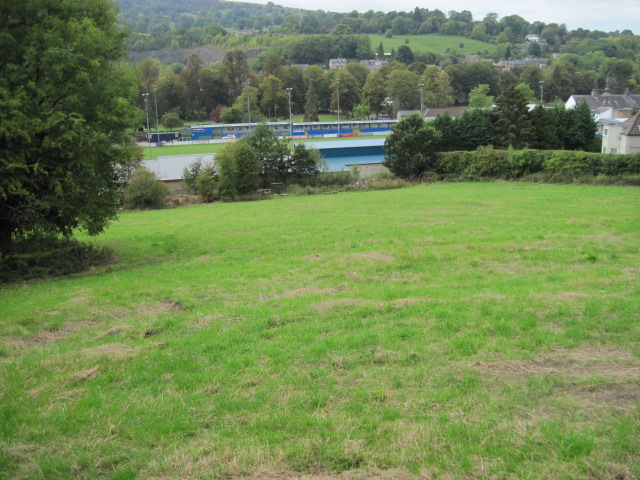 Towards Matlock Town FC ground