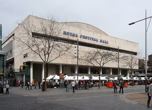 Royal Festival Hall, Belvedere Road (2)