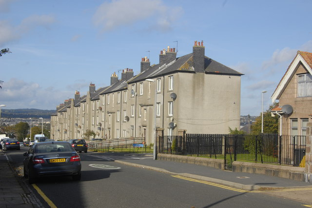 Granite terrace, Grampian Place, Torry