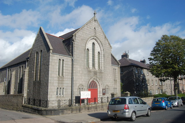 Torry United Free Church, Grampian Road, Torry