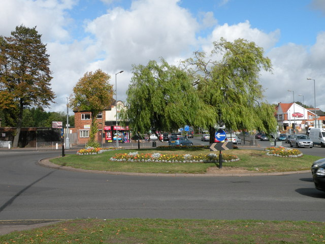 Stechford Lane roundabout