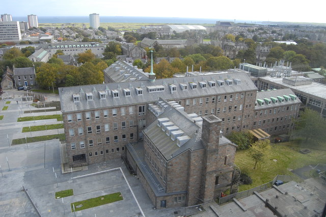 Meston Building, University of Aberdeen