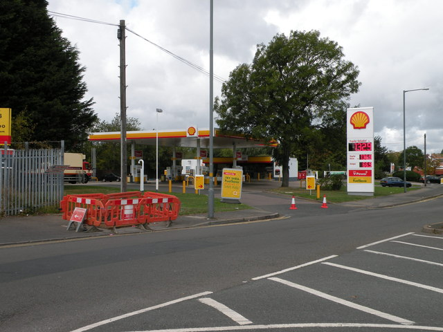 Shell Select Filling Station, Station Road
