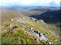 NH1414 : The steep east ridge of Carn a' Mhadaidh-ruaidh by Richard Law