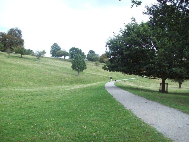 Footpath on the Chatsworth Estate