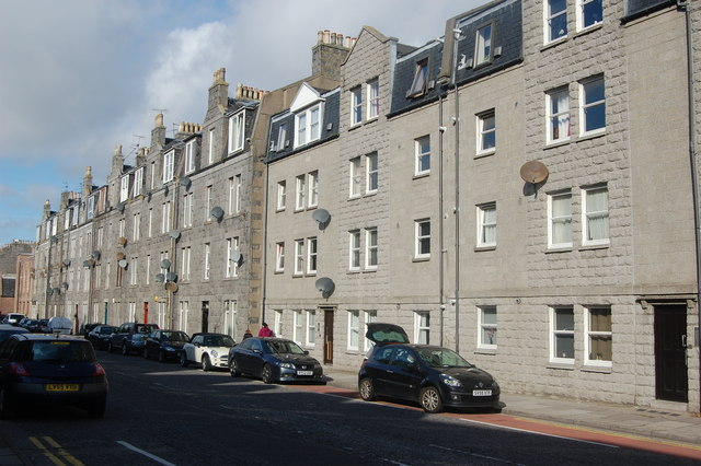 Granite terrace, Victoria Road, Torry