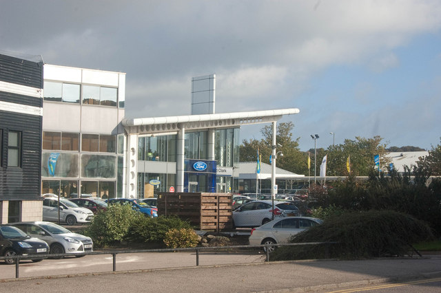 Car dealer, Anytown, UK