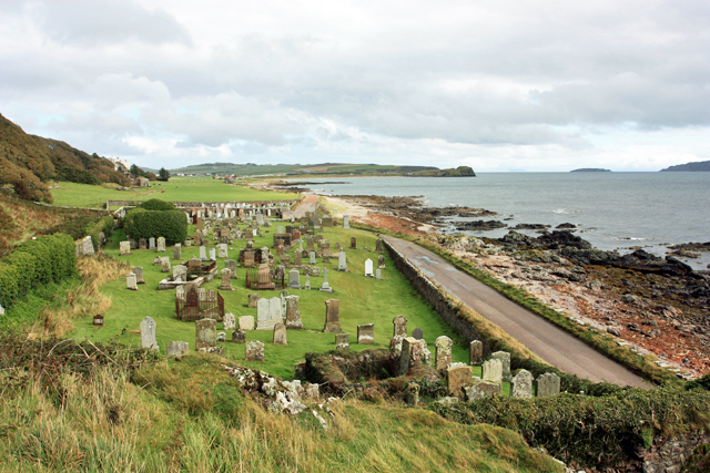 Cemetery at Keil Point