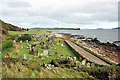 NR6707 : Cemetery at Keil Point by Peter Church