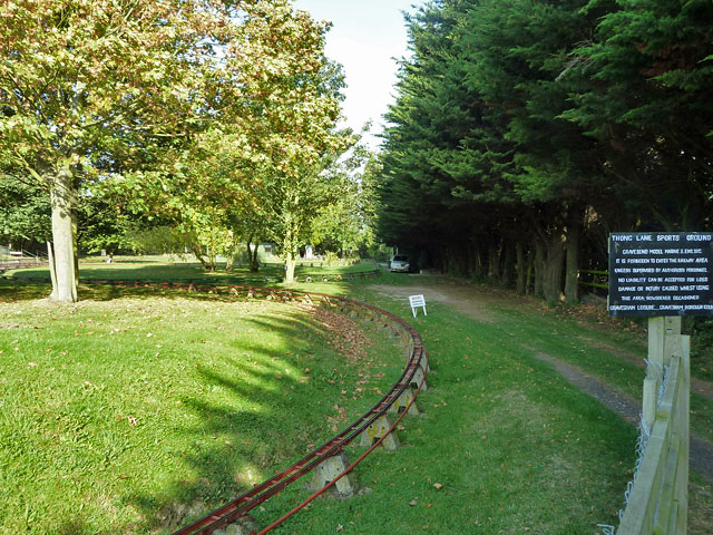 Miniature railway, Thong Lane sports ground