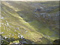 NH1316 : Steeply down into Coire Mheadhoin by Richard Law