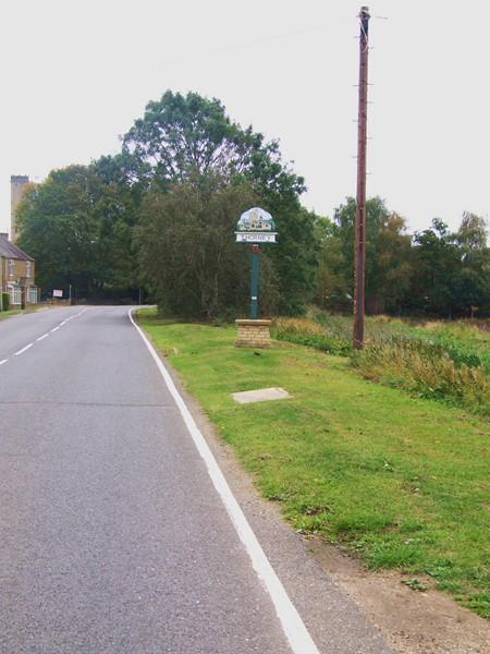 Thorney Village Sign.